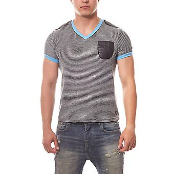 Men's slim fit T-Shirt RUSTY NEAL gray