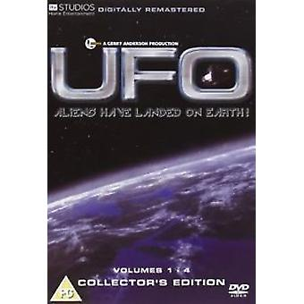 UFO bind 1-4 collector's Edition [1970] [DVD] (ny)