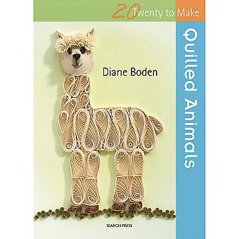 Search Press Books-Twenty To Make Quilled Animals SP-21088