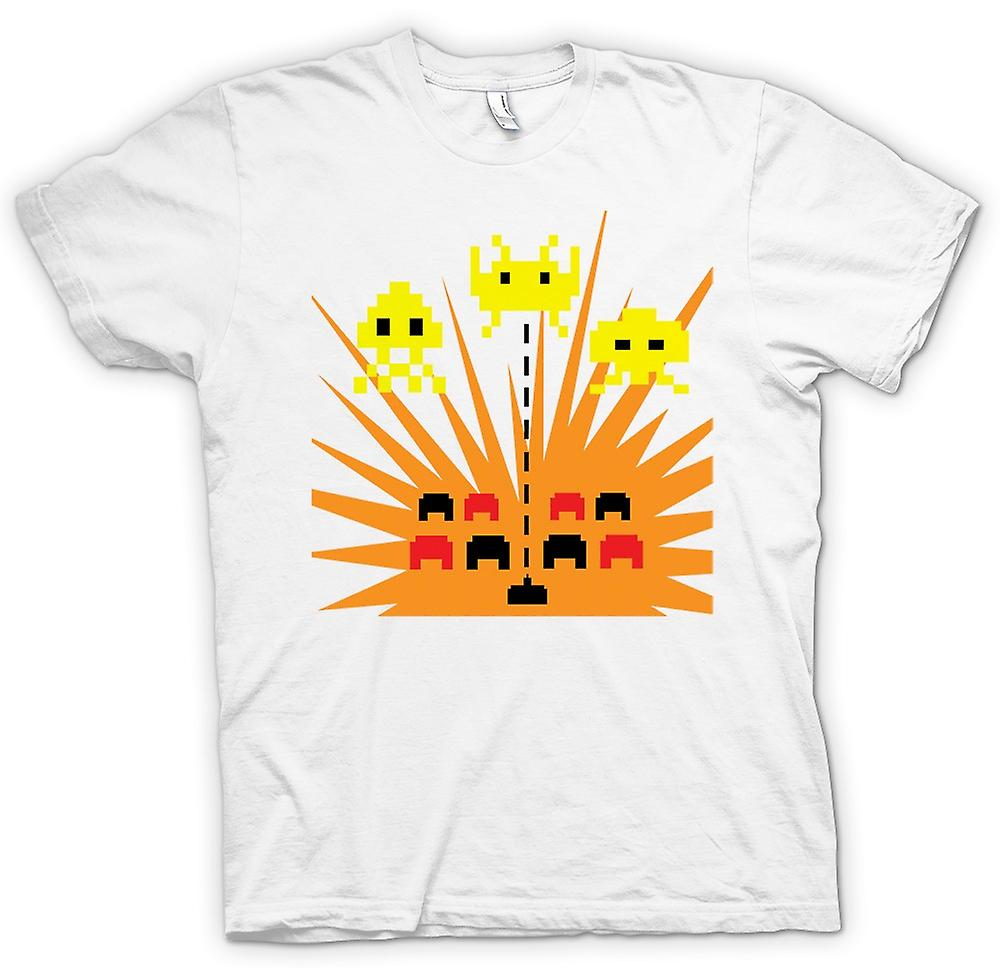Mens T-shirt - Space Invaders - Game Over