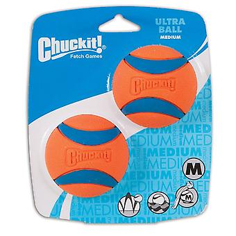 Chuckit Ultra Dog Ball toy Medium 2-Pack