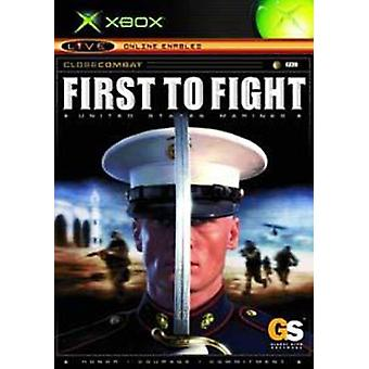 Close Combat First To Fight (Xbox) - Factory Sealed