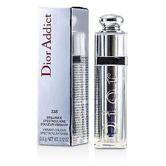Christian Dior Dior Addict ser icónico Color vibrante brillo espectacular lápiz labial - no. 338 Mirage - 3.5g/0.12oz