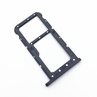 Zamiennikiem Huawei P20 Lite karty Halter SIM taca slajdów uchwyt czarny nowy
