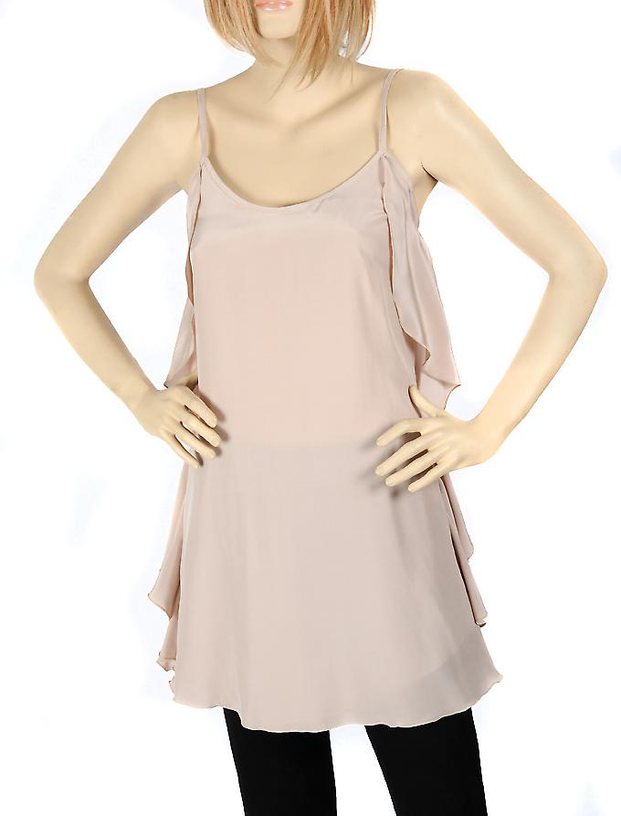 Waooh - Fashion - Petite dress beige silk
