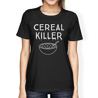 Cereal Killer Shirt Funny Halloween Tshirt Womens Cute Graphic Tee