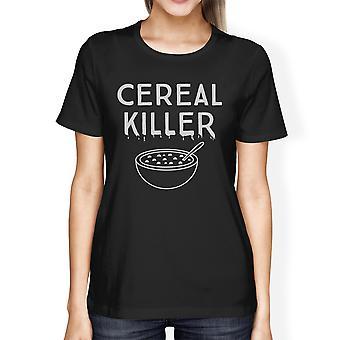 Zbożowe zabójca koszula Funny Halloween Koszulka damska Ładna Graphic Tee