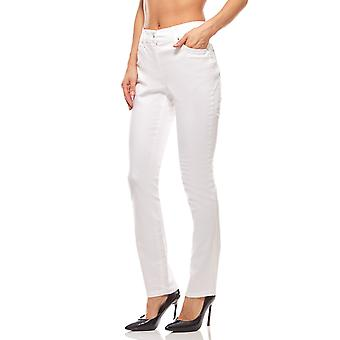 Strike pants ladies short size white ashley brooke