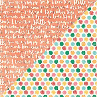 Bowl Of Dreams Double-Sided Cardstock 12