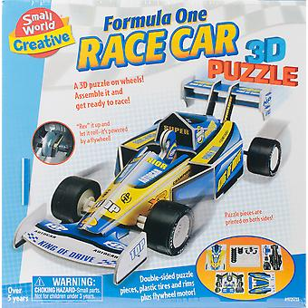 Formula One Race Car 3D Puzzle-