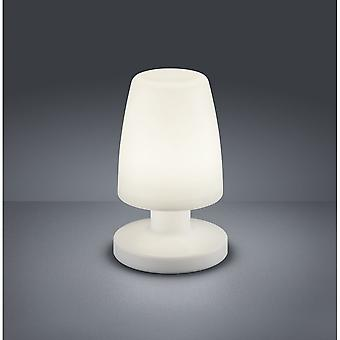 Trio Lighting Dora Modern White Plastic Table Lamp