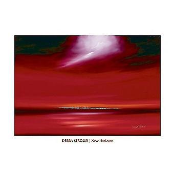 Novos horizontes Apollo Poster Print por Debra Stroud (32 x 24)