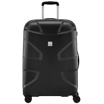 Titan X 2 haj hud 4 hjul polycarbonat trolley kuffert 71 cm