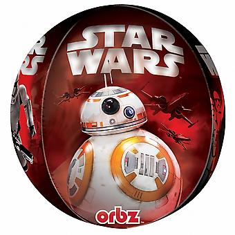 Anagram Star Wars Episode VII Supershape Orbz Round Balloon