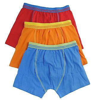 Boys Tom Franks Kids Cotton Stretch Boxer Trunk underwear 6 Pack