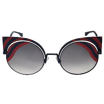 Fendi Hypnoshine Cat Eye Sunglasses FF0215S 0M1 9L 53