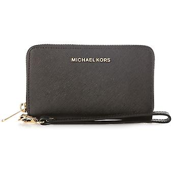 Michael Kors Jet Set Travel Large Smartphone Wristlet - Black - 32H4GTVE9L-001