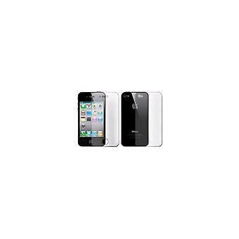 Afficher la feuille complet du corps (Clear) pour Apple iPhone 4/4 s