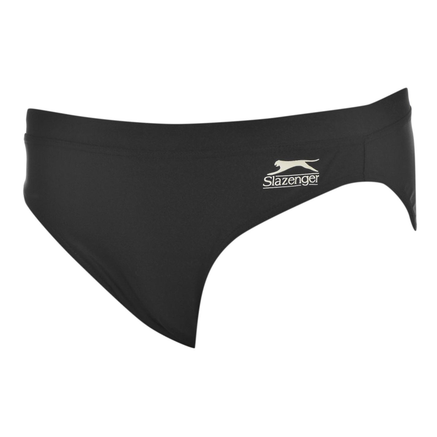 Slazenger Kids Basic Brief Jnr 61 Boys Swimming Trunks Swimwear Swim