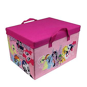 My Little Pony 2-In-1 Equestria Map Play Mat Toy Storage Box Kids MLP Playmat
