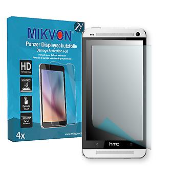 HTC One LTE Screen Protector - Mikvon Armor Screen Protector (Retail Package with accessories)