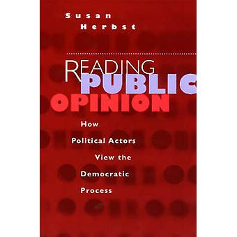 قراءة الرأي العام-الجهات الفاعلة السياسية كيف أعرض Proc الديمقراطية