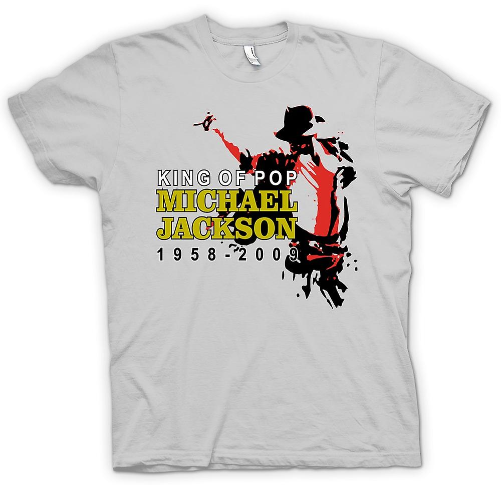 Mens t-shirt - Michael Jackson King Of Pop - nuovo