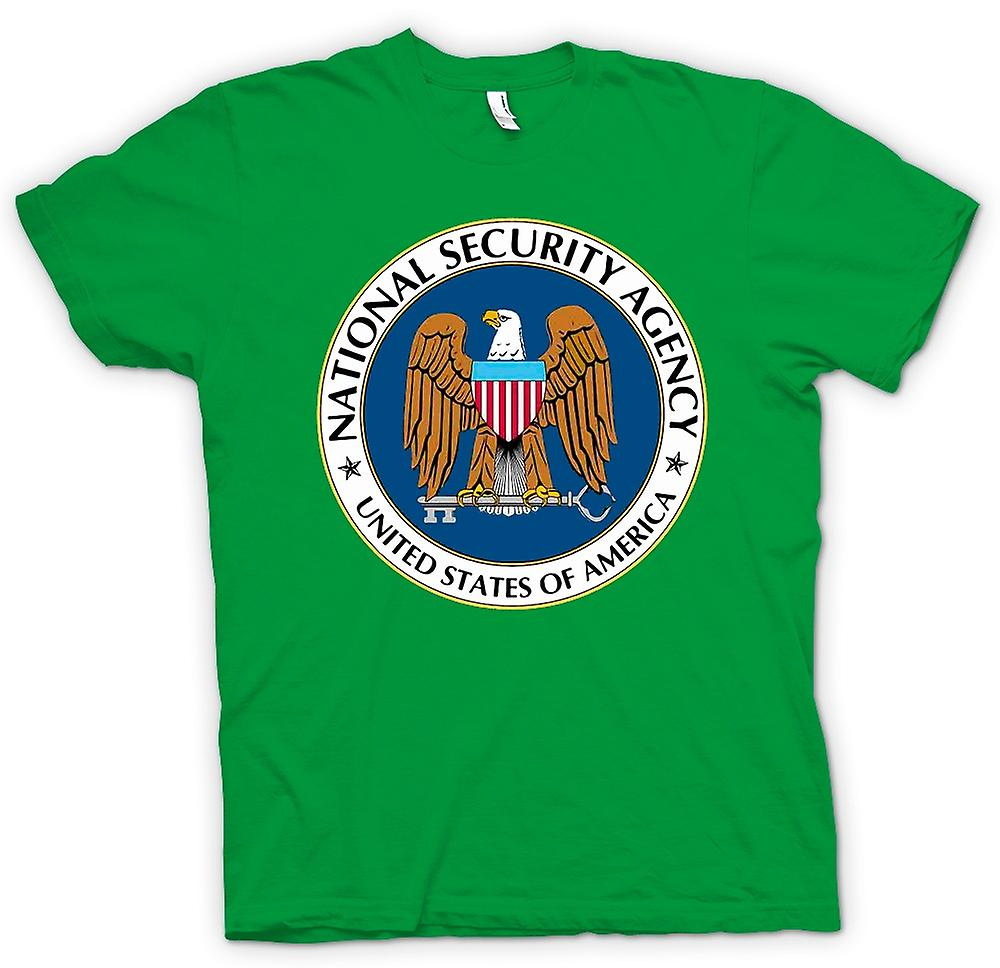 Mens T-shirt - NSA USA Secret Service - Funny