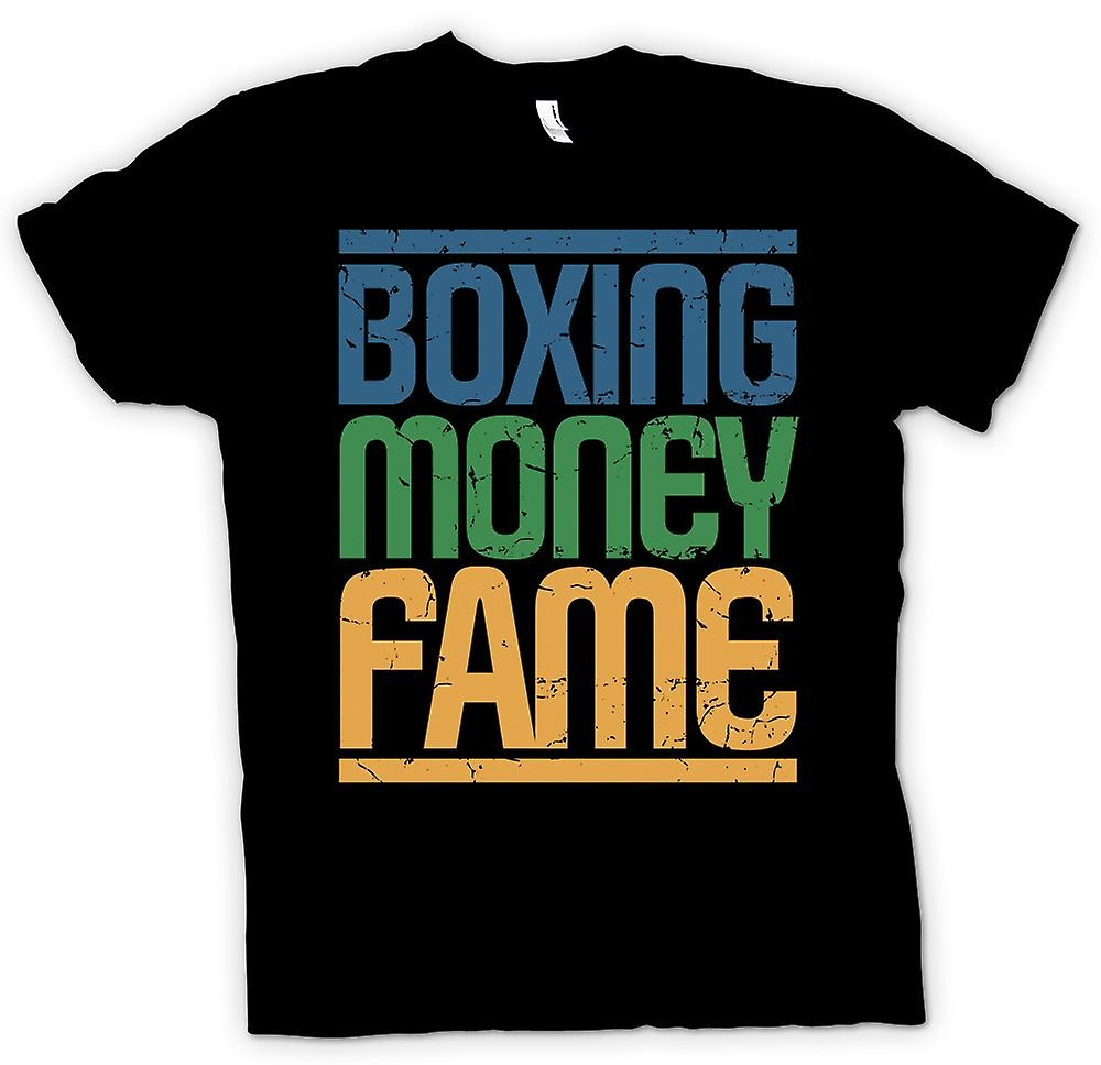 Kids T-shirt - Boxing - Money - Fame