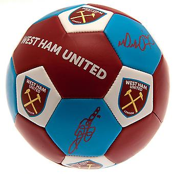 West Ham United FC Nuskin fotball