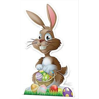 Påske Bunny Lifesize pap påklædningsdukke / Standee