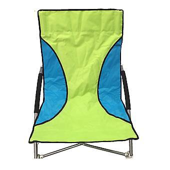 Gröna Nalu hopfällbar låg sits strand stol Camping stol