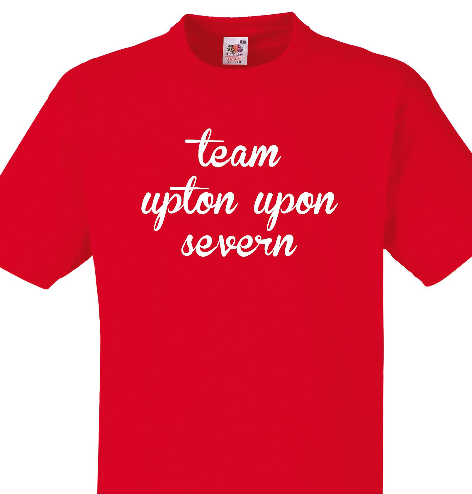 Team Upton upon severn Red T shirt