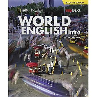 World English with TED Talks Intro - Teacher Book- Beginner (2nd Edition) (Paperback)