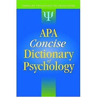APA-Handwörterbuch der Psychologie