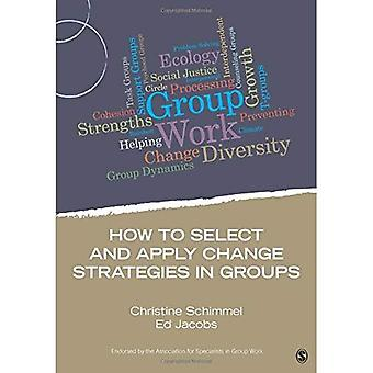 How to Select and Apply Change Strategies in Groups (Group Work Practice Kit)