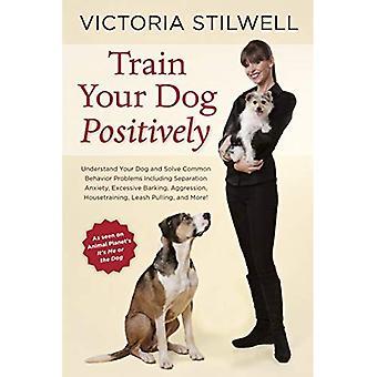 Dresser votre chien de manière positive: Comprendre votre chien et à résoudre des problèmes courants de comportement, y compris l'anxiété de séparation, les aboiements excessifs, agression, Ho