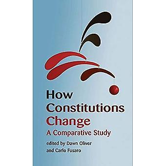 Hoe grondwetten veranderen: Een vergelijkende studie