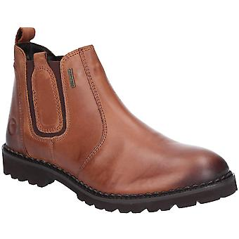 Cotswold Mens Sapperton Leather Wicking Slip On Boots