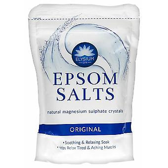 Elysium Spa Epsom Bath Salts Natural Magnesium Sulphate Crystals 1kg Original