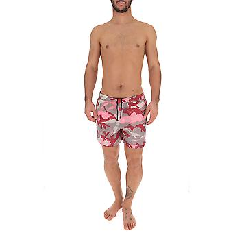 Valentino Camouflage Nylon Trunks