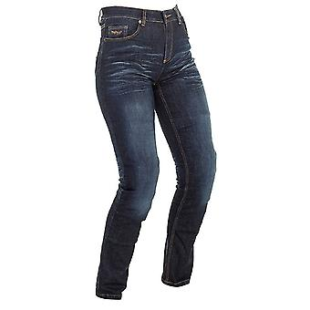 Richa Navy Blue Nora Slim Womens Motorcycle Jeans