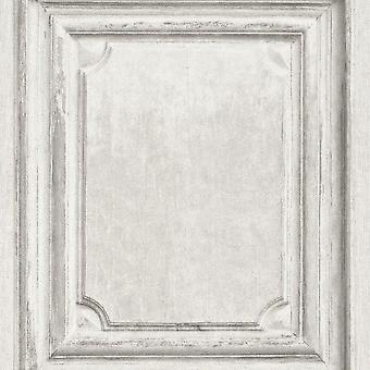 Houten patroon behang hout Effect deurpaneel textuur Vinyl plakken muur Rasch