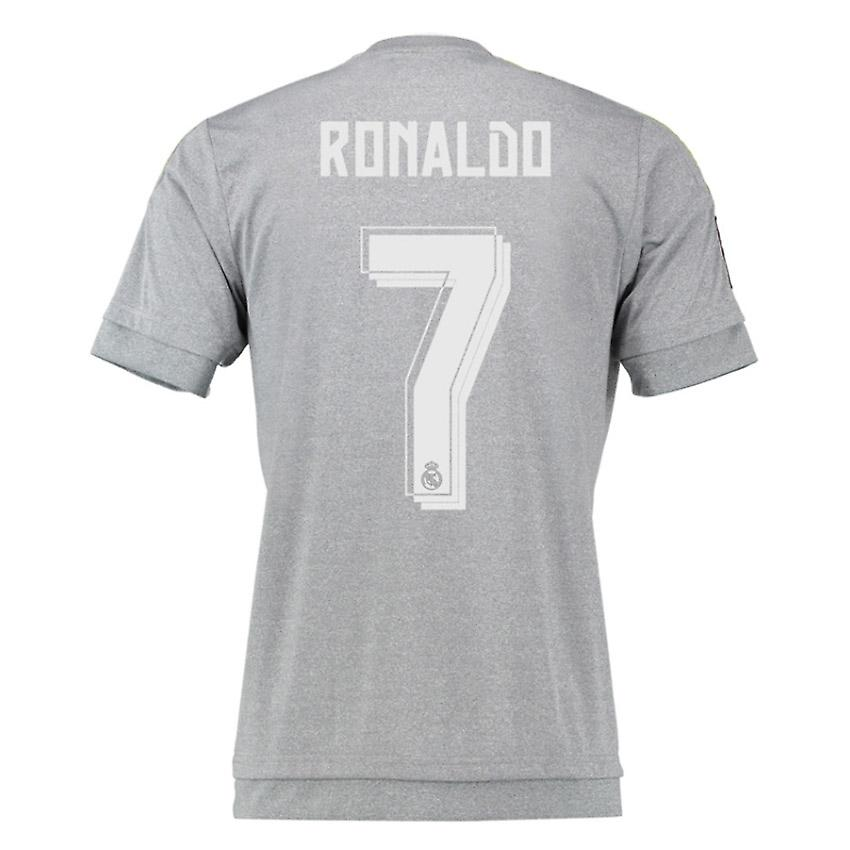 2015-16 Real Madrid Away Shirt (Ronaldo 7)