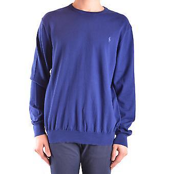 Ralph Lauren Blue Cotton Sweater