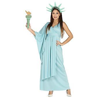 Womens Statue de la liberté costumé