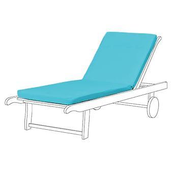 Gardenista® turkoosi vedenkestävä istuin pad Sun Lounger, pakkaus 3