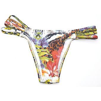 Buzios Bikinis, Roar! Tiger Bikini Pant, Side strap detail
