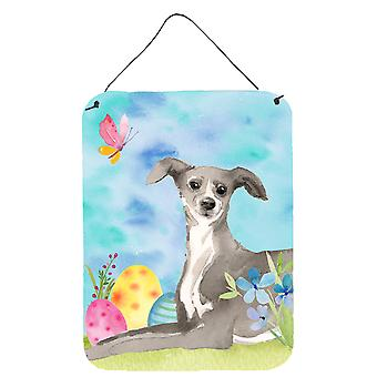 Italian Greyhound Easter Wall or Door Hanging Prints