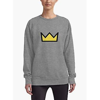 Riverdale - bughead, betty cooper crown women sweat shirt